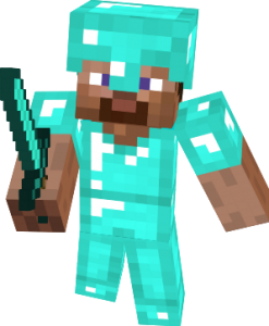 Minecraft_Steve_Diamond_Armor